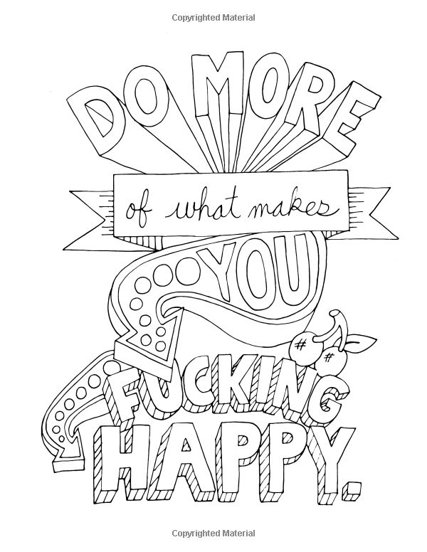 amazoncom make life your bitch a motivational inspirational adult coloring book - Make A Coloring Book
