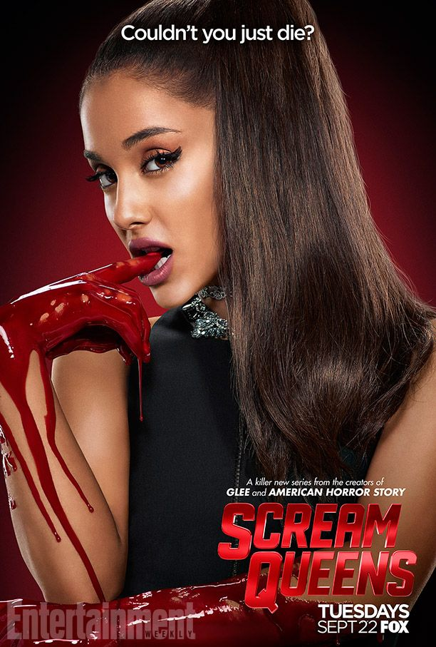 Scream Queens season 1 character posters feature Nick Jonas, Lea Michele, more | EW.com