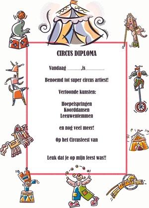 Circusdiploma-gymles