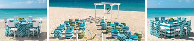 Mexico Beach Wedding | Seaglas Collection | Hard Rock Hotel in Mexico