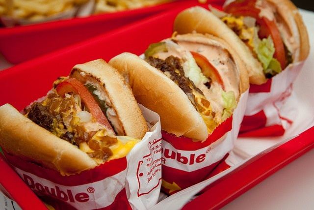 IN-N-OUTs Double Double Burger Named Best Fast Food Burger  - Foodista.com #fastfoodburger