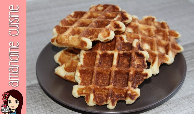25 best ideas about recette de gaufre croustillante on pate a gaufre croustillante