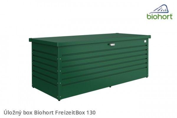 Úložný box FreizeitBox 130, tmavě šedá metalíza             - Kliknutím zobrazíte detail obrázku.