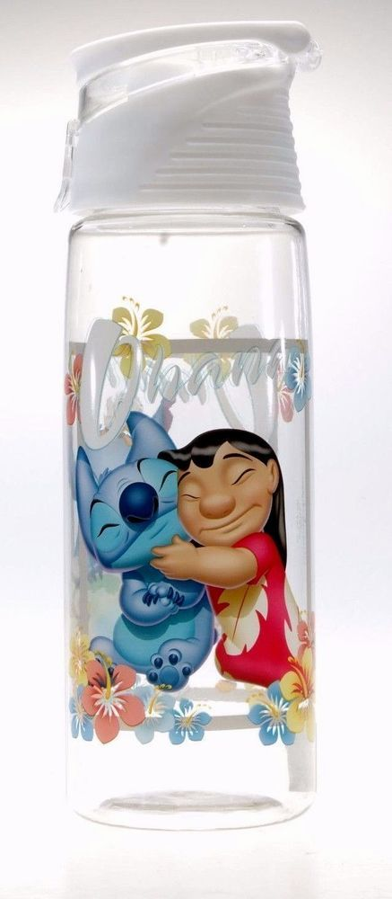 Disney Parks Lilo & Stitch Ohana Water Bottle Travel Tumbler | Collectibles, Disneyana, Contemporary (1968-Now) | eBay!
