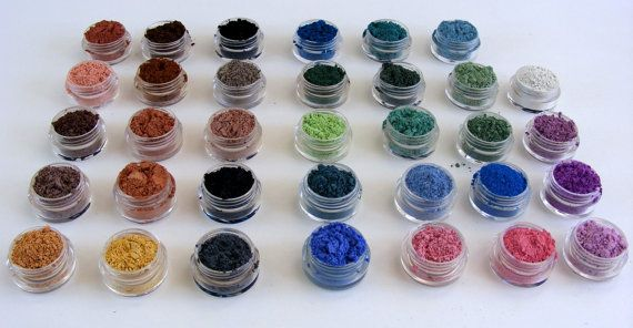Mineral Eyeshadow Mineral Makeup Samples  ONE by ReliqMinerals