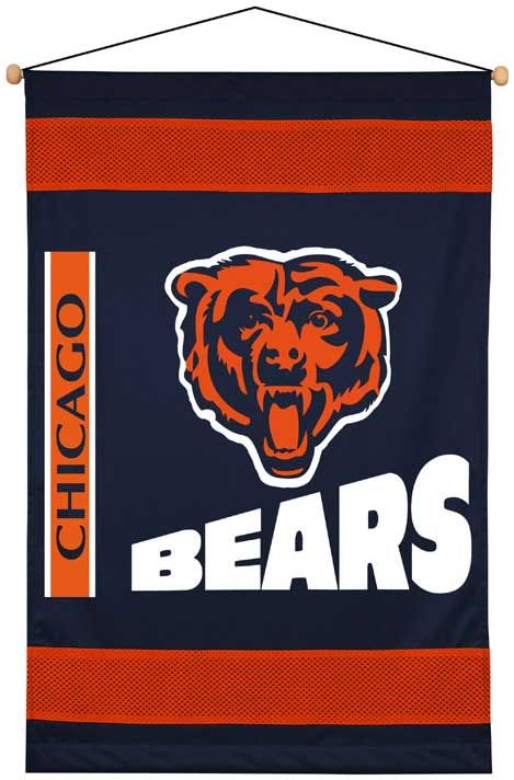 Chicago Bears Side Lines Wall Hanging