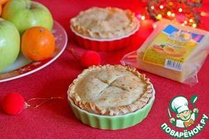 """Яблочный пирог с сыром """"Гауда"""" - кулинарный рецепт"""