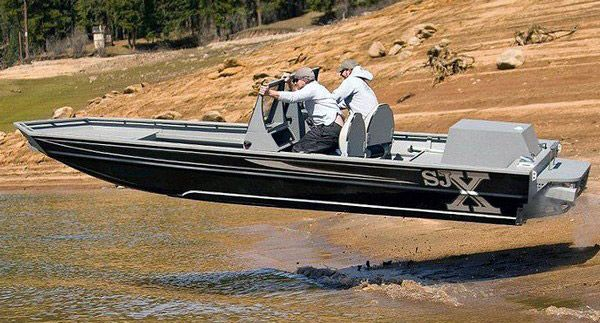 Gallery For > Aluminum Jet Boat