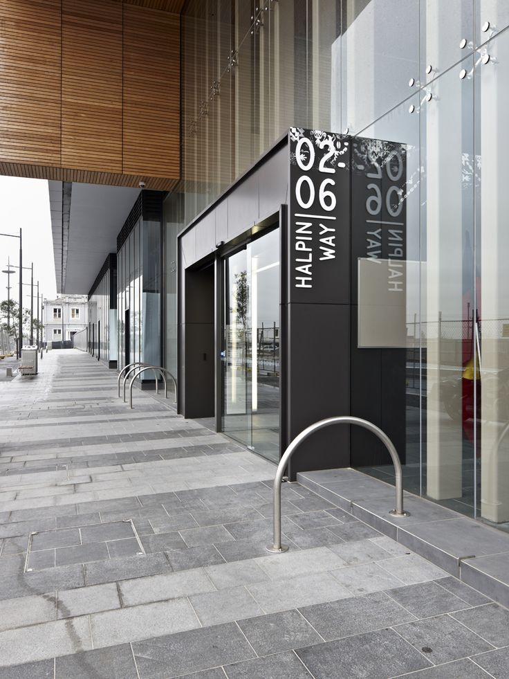 Could be interesting to have a blade sign or some totem at the start of each typology. A place to feature bold graphics as well as mount an ipad for more in-depth information on the typology and the products featured in the space.