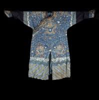 Lot N° 419 A formal court robe China, Qing Dynasty, early 19th Century