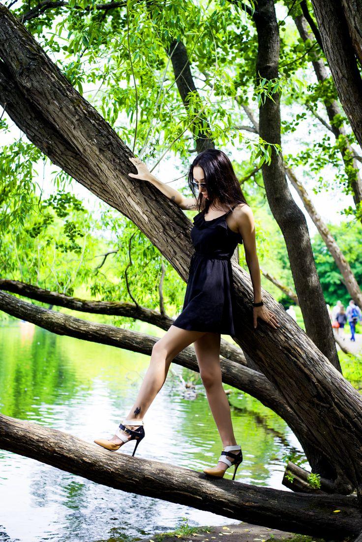 Black little dress #black #dress