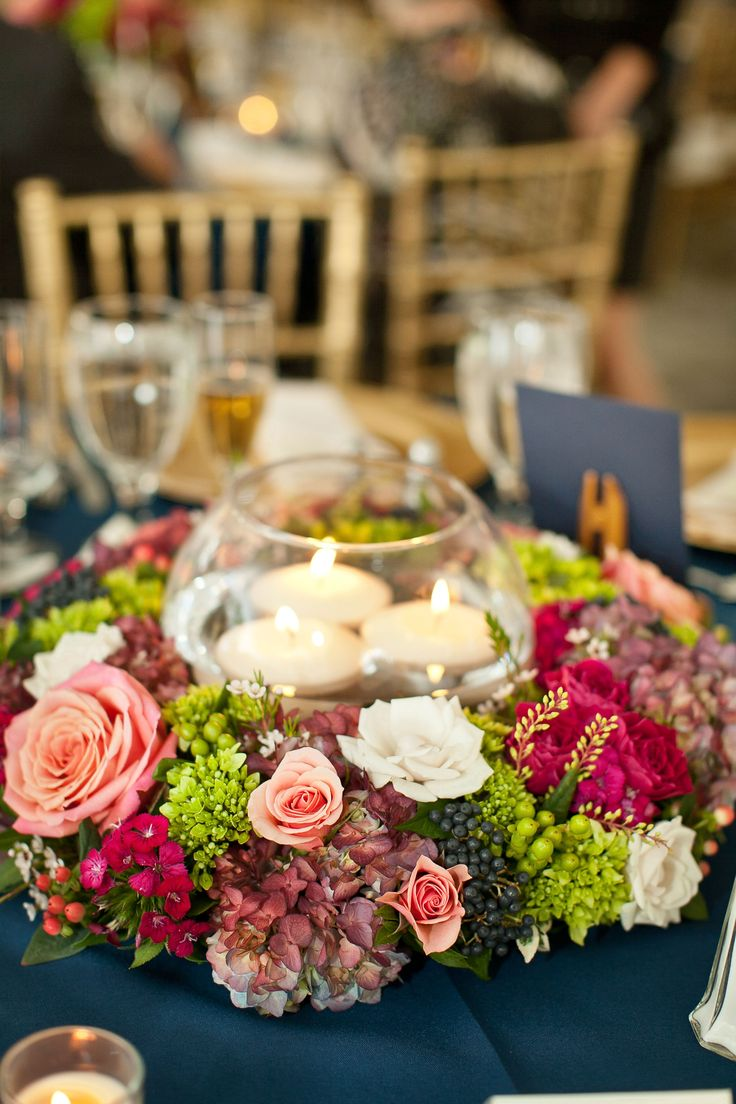 centerpieces for wedding receptions with candles%0A floating candle centerpiece