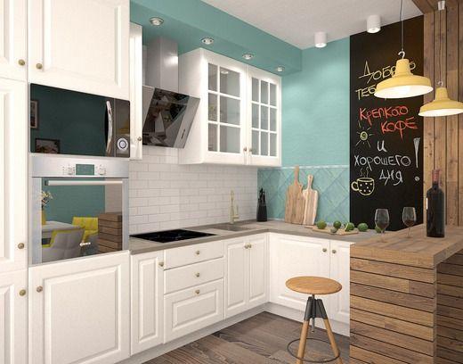 """Яркая и солнечная квартира в """"Марселе"""". Кухня"""