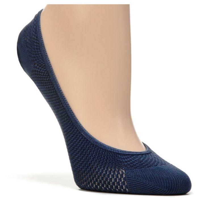 Famous Footwear Women's 5 Pack Super Hidden Mesh Liner Socks (Assorted)