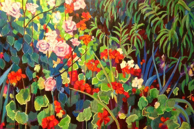"""Rose, Geranium"" by Mellissa Read-Devine"