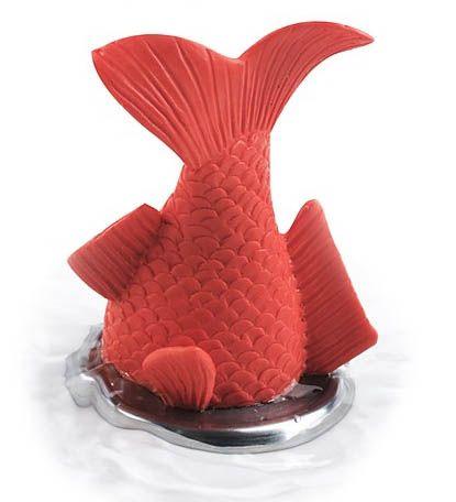 Tapón de lavabo con forma de pez, para darle un aire divertido a tu baño.  www.came3.com #decoracion #reformas #came3