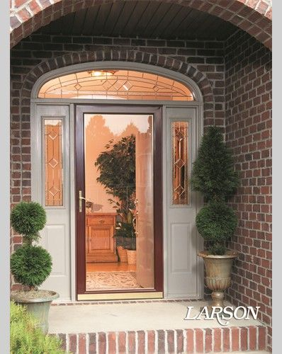 1000 images about front doors on pinterest entry doors house plans and red front doors - Larson secure elegance door ...