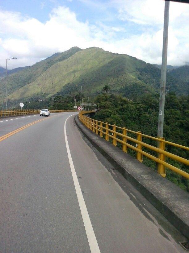 Viajando de Bogotá a Villavicencio Meta