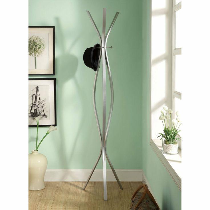 Attractive FurnitureMaxx Silver Metal Contemporary 72 Design Inspirations