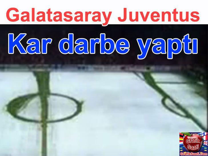 Galatasaray Juventus maçına kar tatili - sport news Turkey