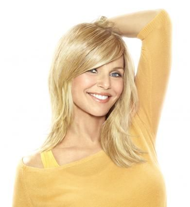 The Full-Sweeping Side Fringe extensions are a great way to change up your hair style!