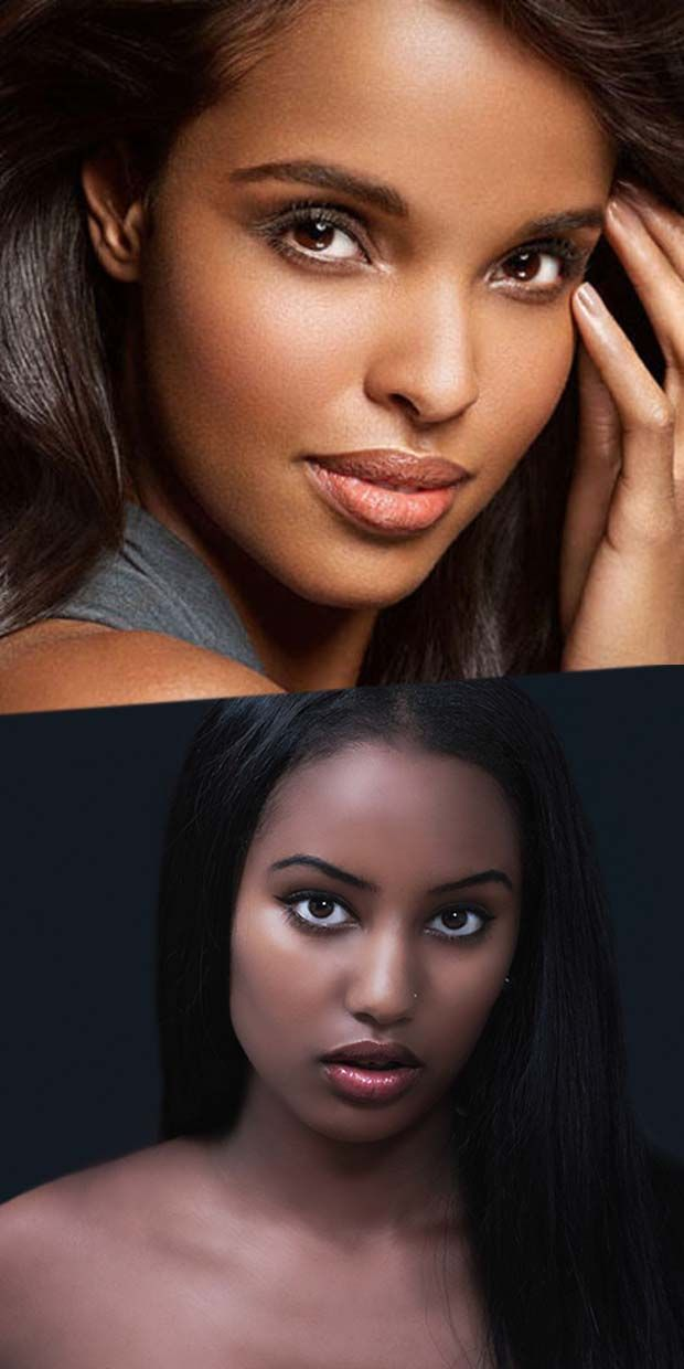 6 Simple Steps To Bring Out your Beautiful Face Appearance to Match Your Pale Black Skin & Black Hair
