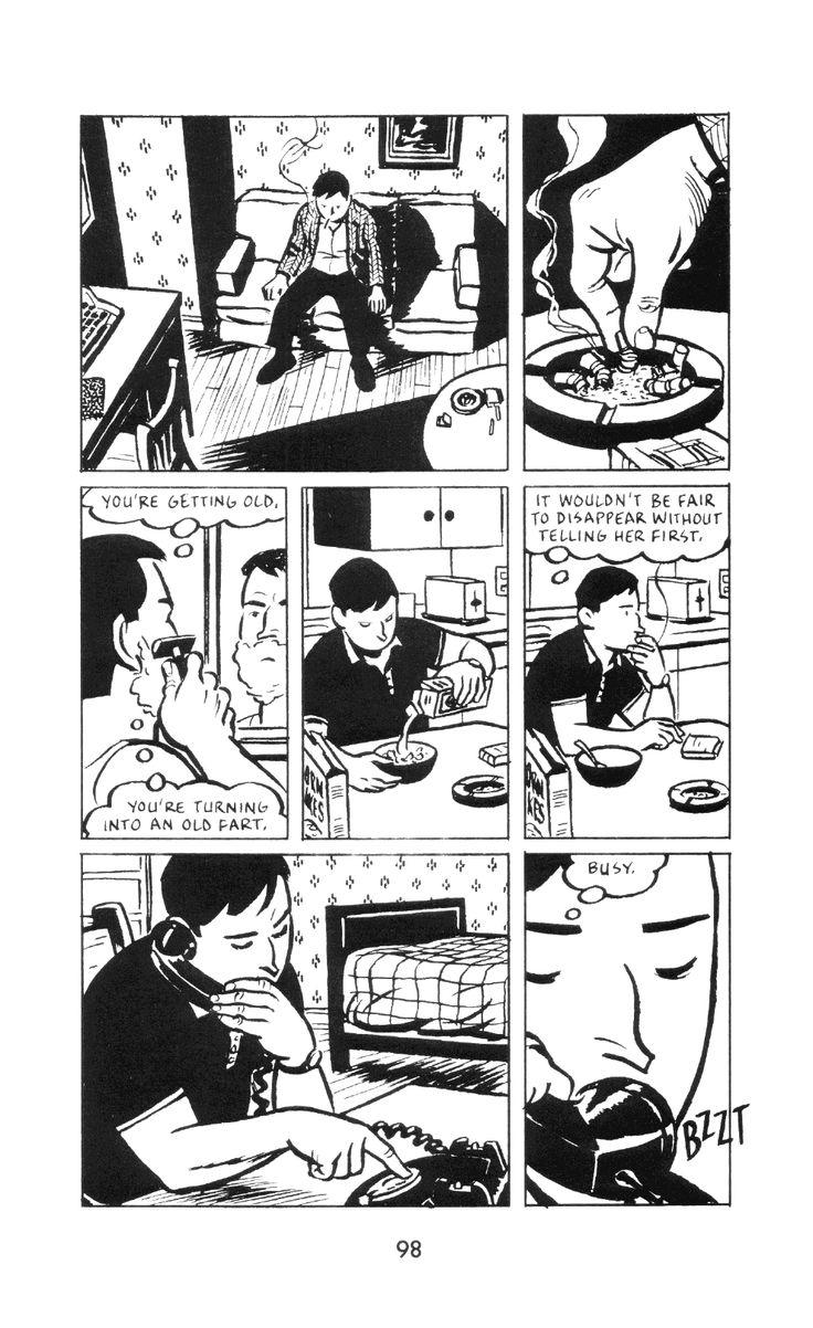 brianmichaelbendis: Paul Auster's City of Glass (Neon Lit/Avon Books - August 1994) Writer: Paul KarasikIllustrator: David Mazzucchelli