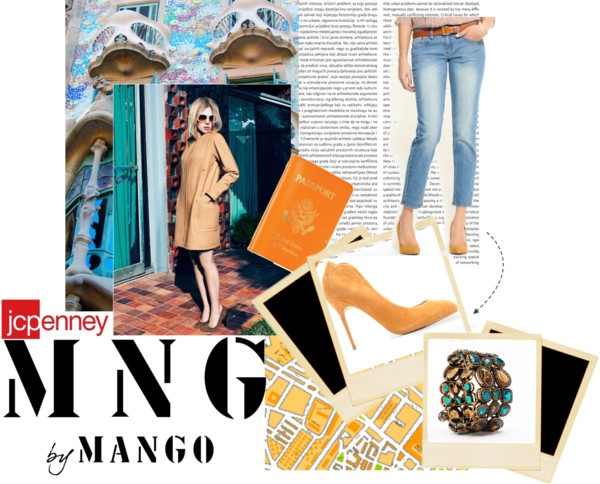"""""""MANGO @ JCPENNY BRINGS EUROPE TO THE USA"""" by theacademyofme on Polyvore"""