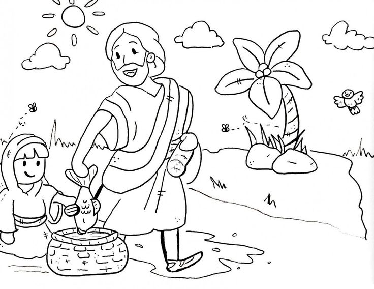17 best ideas about sunday school coloring pages on for Sunday school lessons coloring pages