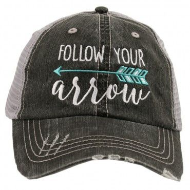 Follow Your Arrow Trucker Hat