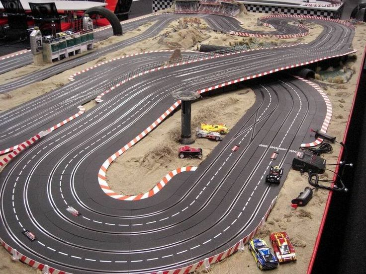 Slot Car Track Layouts | Carrera Slot Car Track Layouts by Ileana | 1/32 Slot car layouts ...