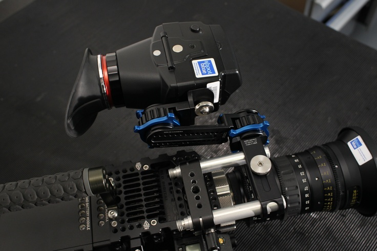 Alphatron EVF with RED EPIC