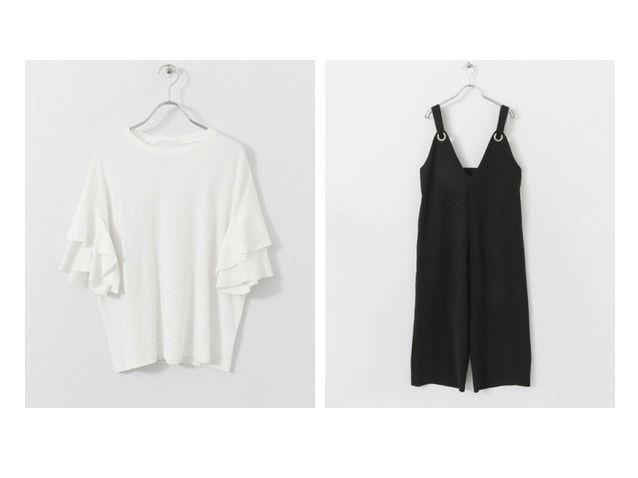 2017夏 おすすめ!人気アイテム   ケービーエフのメタルサロペット&ティアードスリーブTシャツのファッション通販