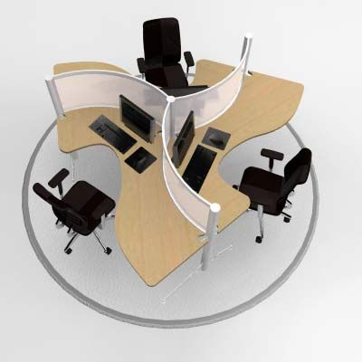 Create The Perfect Modern Workstations For Your Companyu0027s Talent With Modular  Office Furniture And Adjustable Height Benching Systems That Are Well  Designed ...