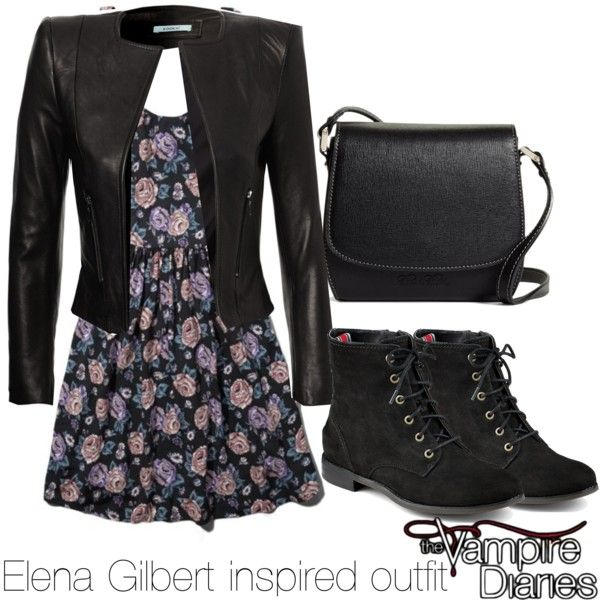 Elena Gilbert inspired outfit/The Vampire Diaries by tvdsarahmichele on Polyvore featuring Abercrombie & Fitch, Sperry Top-Sider and Brooks Brothers