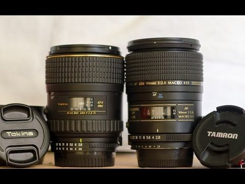 Macro Lens basics & Review of Sigma 105mm Macro - YouTube