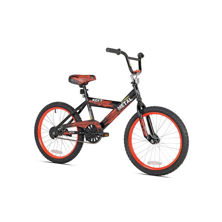 Boys Kent 20-in. Street Metal Bike, Black