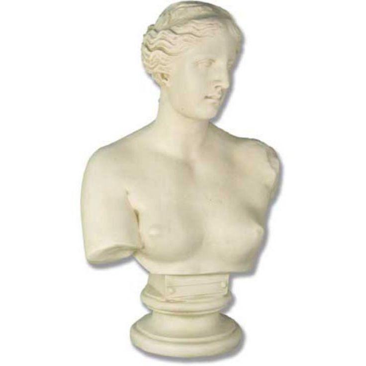 Venus De Milo Bust Garden Statue - F152