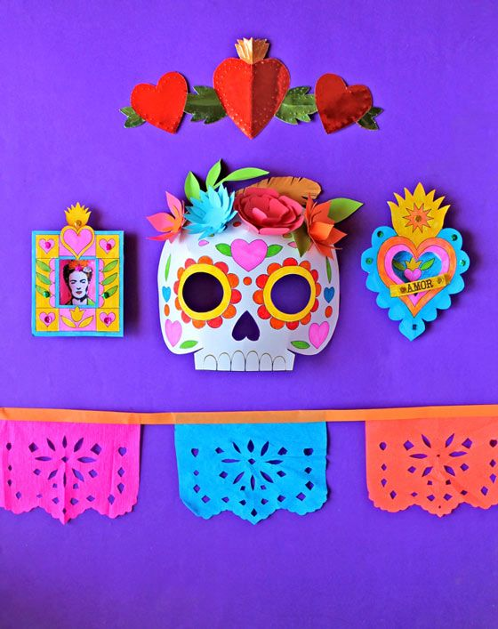Day of the Dead craft activity pack 50% discount to you right now on our new Day of the Dead craft activty pack Normally $5. discount code: CALAVERA click here for more details - https://happythought.co.uk/day-of-the-dead-craft-activity-pack