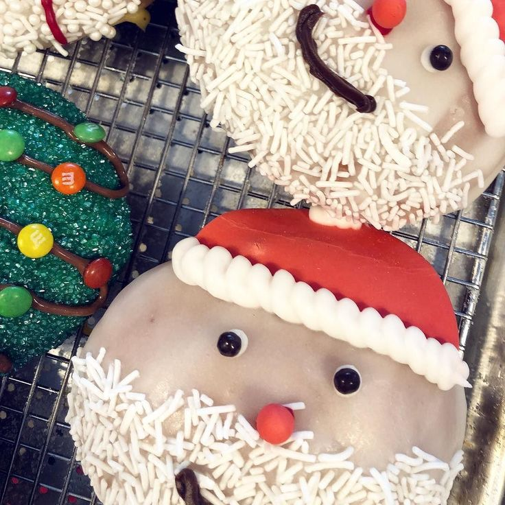 Christmas is upon us! if you want to grab an eggnog-filled Santa or any of our other festive donuts order them today! Whether its for a Christmas party an office morning tea or just because you want to - weve got you covered