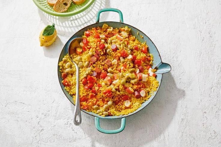 Overal ter wereld kook je in Spaanse sferen met maar één pan. Vamos! - recept - Allerhande