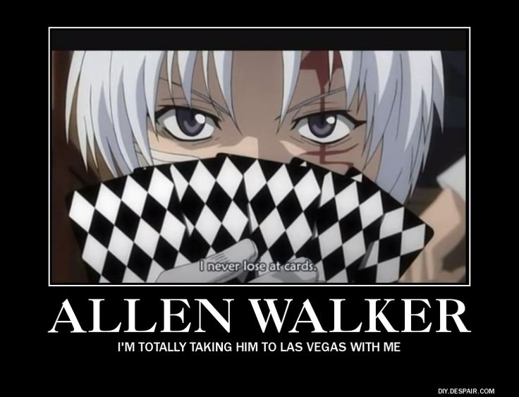 Poker Allen :) (D. Gray Man)