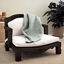 Green Living Products & Natural Home Decor - Gaiam..meditation chairs made from sustainable wood..these so rock!Decor, Raja Chairs, Dreams, Chairs Cushions, Gaiam, Raja Meditation, Meditation Chairs, Furniture, Yoga