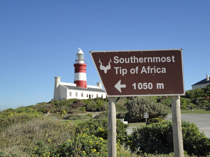 Volunteer with Via Volunteers in south Africa and check out the Southern most tip of Africa - Cape Agulhas!