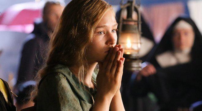 Zofia Wichłacz na planie zdjęciowym filmu Miasto 44 w reżyserii Jana Komasy