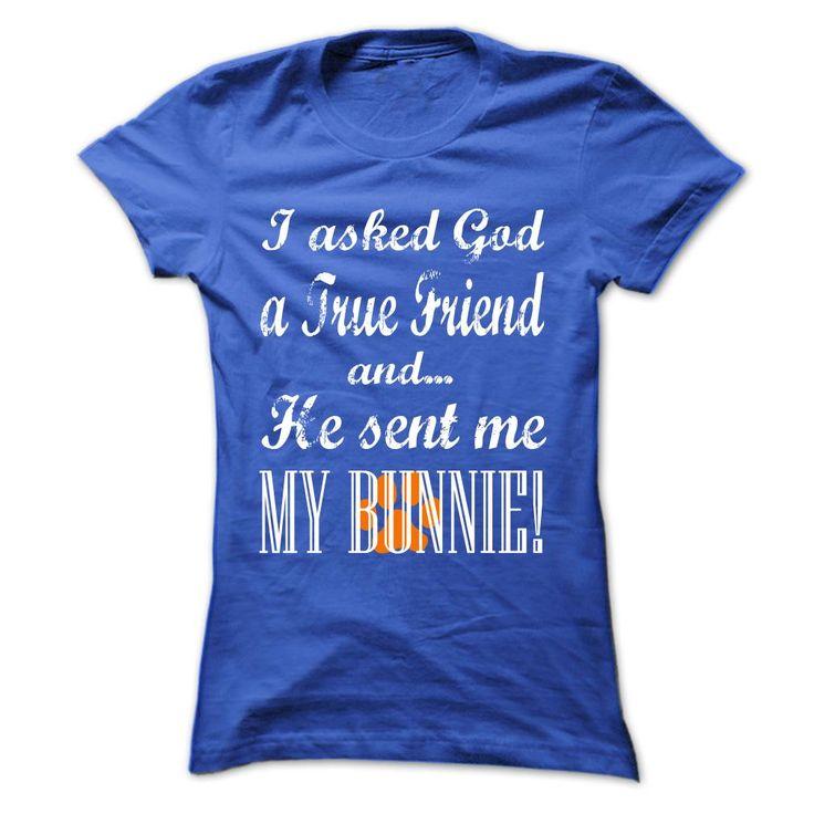 GOD SENT ME MY BUNNIE! https://www.sunfrog.com/Pets/GOD-SENT-ME-MY-BUNNIE-RoyalBlue-Ladies.html?46568