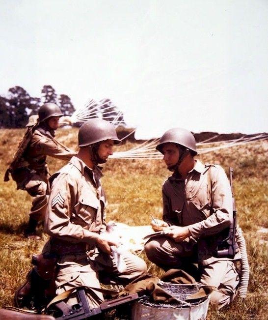 U.S. 82 nd AIRBORNE Normandy 6 june 1944