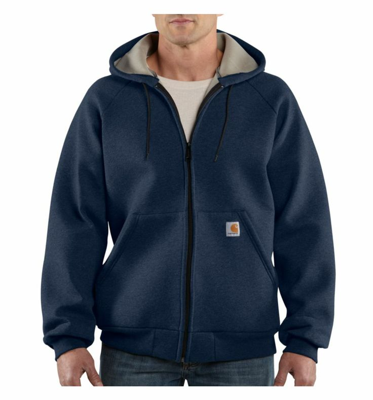 Carhartt Car-Lux Hoodie - Insulated, Full Zip (For Tall Men)