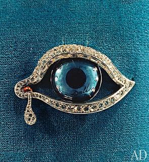 eyes of time brooch