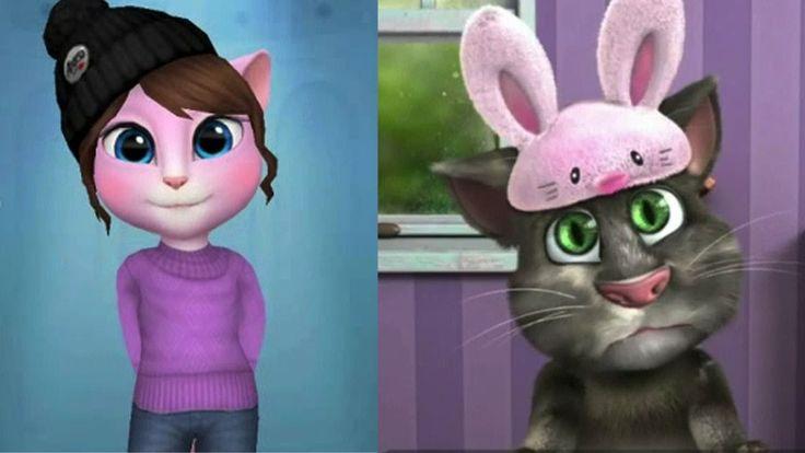 My Talking Angela VS Talking TOM 2 - best mobile games for kids